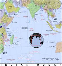 Indian Ocean Map Indian Ocean Public Domain Maps By Pat The Free Open Source