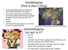 What Is Blind Shipping Yugioh Puzzleshipping Yami Yuugi Blindshipping Idunno Powerpoint
