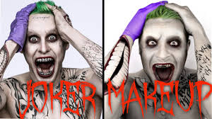 jared leto squad joker makeup tutorial creative badass