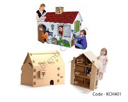 kids cardboard house archives blend creations