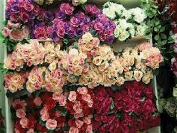 silk flowers bulk floral land artificial flowers wedding bouquets flower