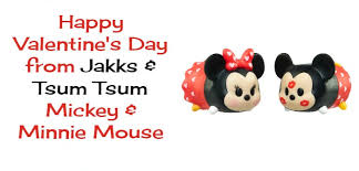 minnie mouse s day jakks has disney mickey and minnie mouse tsum tsum s this
