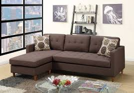 chocolate sectional sofa chocolate sectional sofa by poundex