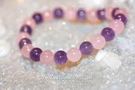 rose quartz bead bracelet images Combination power bead bracelets remnants of magic jpeg