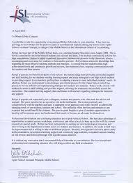 Recommendation Letter Sample For Teacher Assistant Letter Of Recommendation For Middle Student Sample Letter