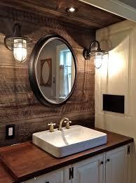 delightful wonderful farmhouse bathroom lighting lighting design