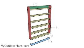 Dvd Rack Wood Plans by Dvd Shelf Plans Myoutdoorplans Free Woodworking Plans And