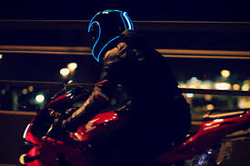 Motorcycle Helmet Lights New Motorcycle Helmet Tech Welcome To The Future Chaparral