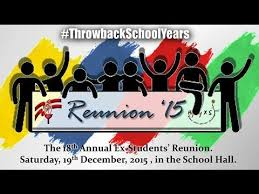 high school reunion banners jeene ke ishaare holy family high school andheri reunion