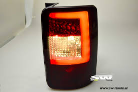 vw led tail lights swceli led taillights for vw caddy type 2k 03 15 red smoke lightbar
