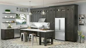 what does 10x10 cabinets new 10x10 in cinder gray classic shaker kitchen cabinets