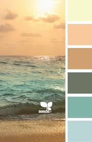 subdued aqua and coral color escape palette home sweet home