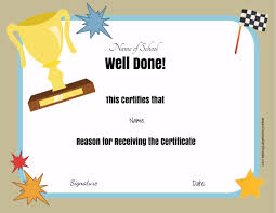 free certificates u0026 awards