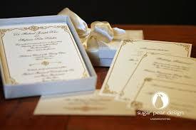 Personalized Wedding Invitations Stefanie U0026 Michael 28 March 2015 Custom Wedding Invitations