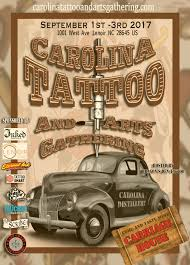 carolina tattoo and arts gathering september 2017