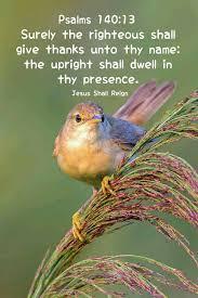 psalm 140 13 kjv bible scriptures kjv bible