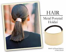 ponytail holder chic inspector it s for your hair metal ponytail holder