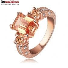fashion wholesale rings images Lzeshine 2016 beautiful rectangle zircon cutting ring rose gold jpg