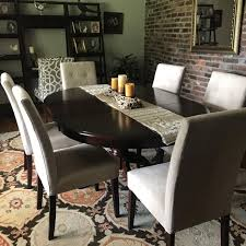 ronan extension table and chairs find more pier 1 imports ronan extension tobacco dining table with 6