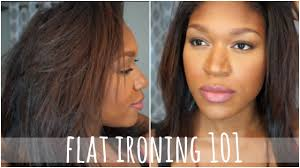 what is the best type of hair to use for a crochet weave flat ironing natural hair 101 best for type 4 hair youtube