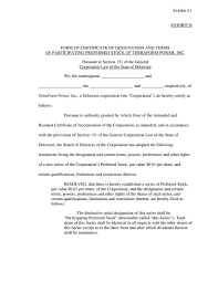 Delaware Power Of Attorney Form by Form 8 A12g Terraform Power Inc
