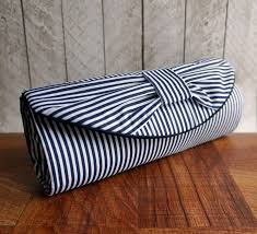 white and blue bows nautical clutch navy blue clutch bag blue and white stripe bow