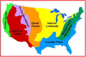 regions of the united states teaching geography map skills