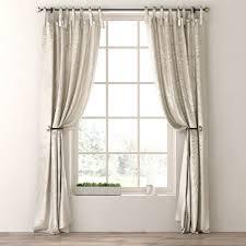 Tie Top Curtains 3d Model Luster Silk Tie Top Drapery Panel Cgtrader