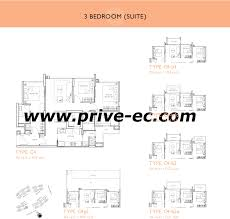 floor plan key floor plans privé punggol
