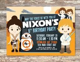 Birthday Invite Cards Free Printable Star Wars Birthday Party Invitations Free Printable Invitations