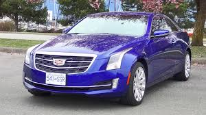 2015 cadillac ats coupe v6 awd test drive review