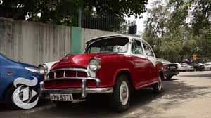 second car ever made road ends for india u0027s iconic ambassador car the new york times
