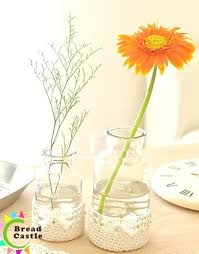 Cheap Glass Flower Vases Submerged Flower Design Short Glass Vase With Flowers Glass Wall