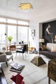Wohnzimmer Fenster Wohnzimmer Deko Mit Skulpturen Und Kunstwerken 50 Ideen