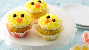 Cake Decorations For Easter Cakes by Easter Chicks Cupcakes Recipe Bettycrocker Com