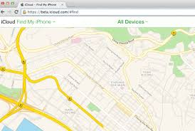 find maps apple maps launch on the web in new find my iphone beta