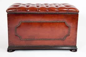 furniture cheap dark brown leather ottoman cube ideas for country