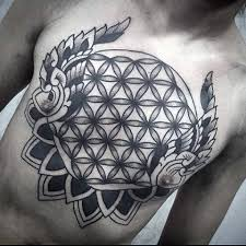 100 flower of designs for geometrical ink ideas