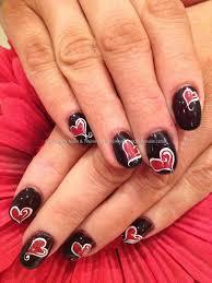 26 stunning heart acrylic nail designs u2013 slybury com