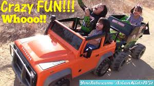 power wheels wheels jeep wrangler ride on power wheels paytime fun with the kids monster truck