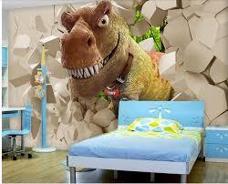 3d papier peint pour chambre dinosaure enfants chambre de