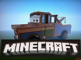 minecraft police car minecraft mega build tow mater truck minecraft mega builds