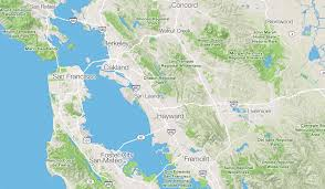 San Francisco Bay Map by Strava Maps For Runners And Cyclists U2013 Points Of Interest