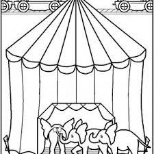 circus coloring pages u2013 birthday printable