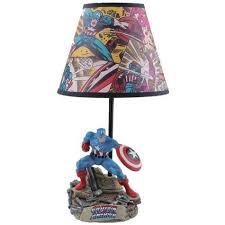 Captain America Bedroom by Amazon Com Captain America Lamp Toys U0026 Games Comic Book