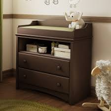 Espresso Changing Table Baby Furniture 2 Drawer Changing Table In Espresso