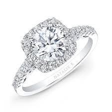 diamond halo rings images 18k white gold white diamond cushion halo engageme jpg
