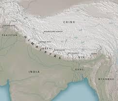 Himalayan Mountains Map Himalaya Wikiwand