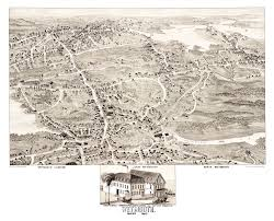 massachusetts on a map historical map of weymouth massachusetts from 1880 knowol