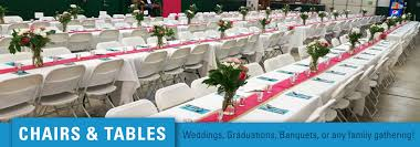 renting tables northern event rentals bemidji mn chair table rentals for